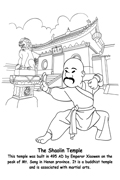 Ancient China Coloring Pages