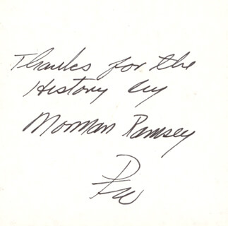 Brigadier General Paul W. Tibbets Autographs, Memorabilia