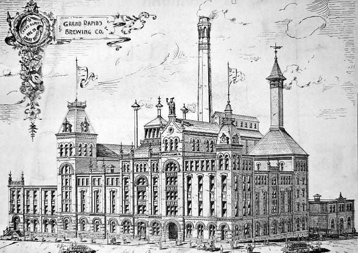 Grand Rapids Brewing Co  History Grand Rapids