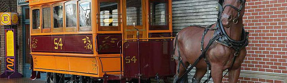 Restoration of the Public Museums Horsedrawn Streetcar  History Grand Rapids