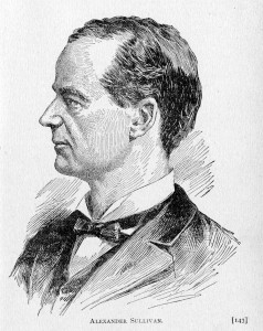 Above: Alexander Sullivan.