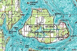 McNeil Island and the Federal Penitentiary, 1841-1981 ...