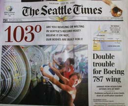 Historic Seattle heat wave peaks at a record 103 degrees