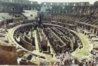 Entertainment at the Colosseum in Rome