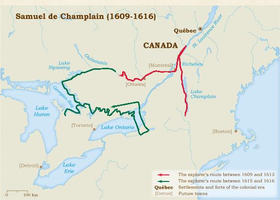 Samuel de Champlain 16041616  Virtual Museum of New France