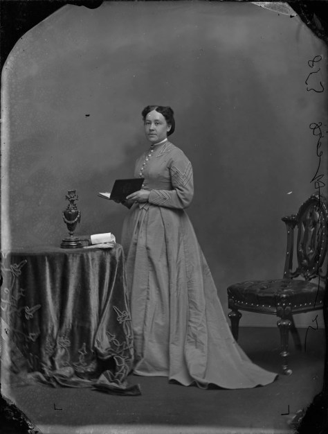 Miss Harmon. Source: LAC Topley Series A, May 1868 (MIKAN 3470100).