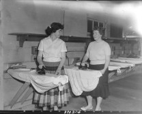 Unidentified Women, Laurentian Terrace. Source: Duncan Cameron / Library and Archives Canada. Box 3763, Item 8103.