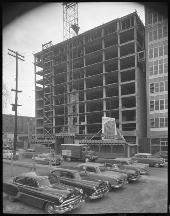 Beacon Arms, October 13, 1955. City of Ottawa Archives, Item CA034728.