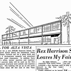 Sketch published in the Citizen. Source: Ottawa Citizen, March 30, 1959, p. 10.