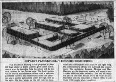 Bell's Corners High School. Source: Ottawa Journal, December 13, 1961, p. 3.