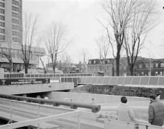 Phase I, Exterior Square. February 25, 1975. Image: Hans Blohm / LAC Accession 1983-074 NPC, Box 05504, Item 2345-5.