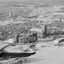 Phases I - III, Exterior. December 27, 1975. Image: Hans Blohm / LAC Accession 1983-074 NPC, Box 05505, Item 2449-19.