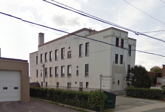 Tisdale Municipal Building, rear facade. Image: Google Maps, September 2009.