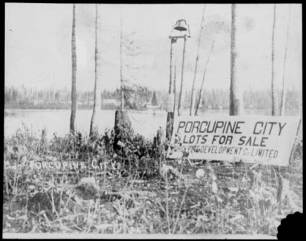 By the Depression, the Porcupine Camp had come a long way in a short time. Image: Archives of Ontario, C 320-1-0-10-8.