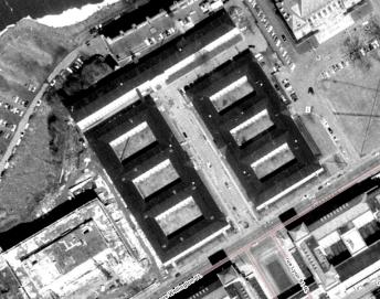 The wartime temporaries on Wellington, at Lyon. Image: geoOttawa.