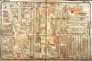 1924. Source: Goad's Atlas, 1924, Plate 62.