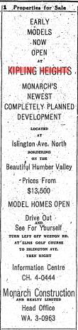 Source: Toronto Star, June 11, 1955, 36.