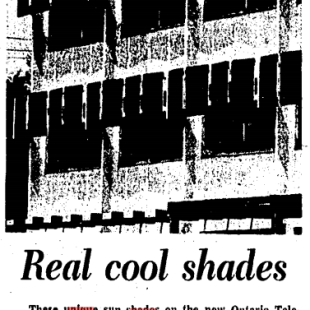 It wasn't a lengthy feature. Source: Toronto Star, June 10, 1964, 19.