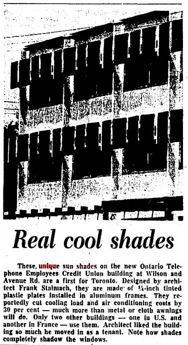 It wasn't a lengthy feature. Source: Toronto Star, June 10, 1964, 19.