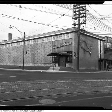 Sign of the Steer restaurant in 1955. Image: City of Toronto Archives, Fonds 1257, Series 1057, Item 504
