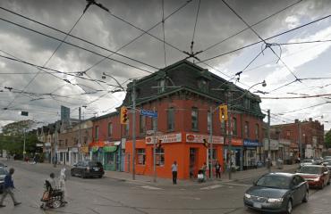 The corner in 2016. Image: Google Maps.