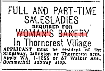Source: Toronto Star, November 26, 1955, 47.