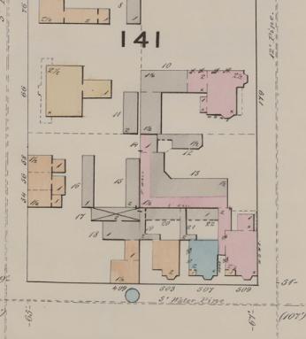 Seems pretty similar. Source: Goad's Atlas (1878), 28.