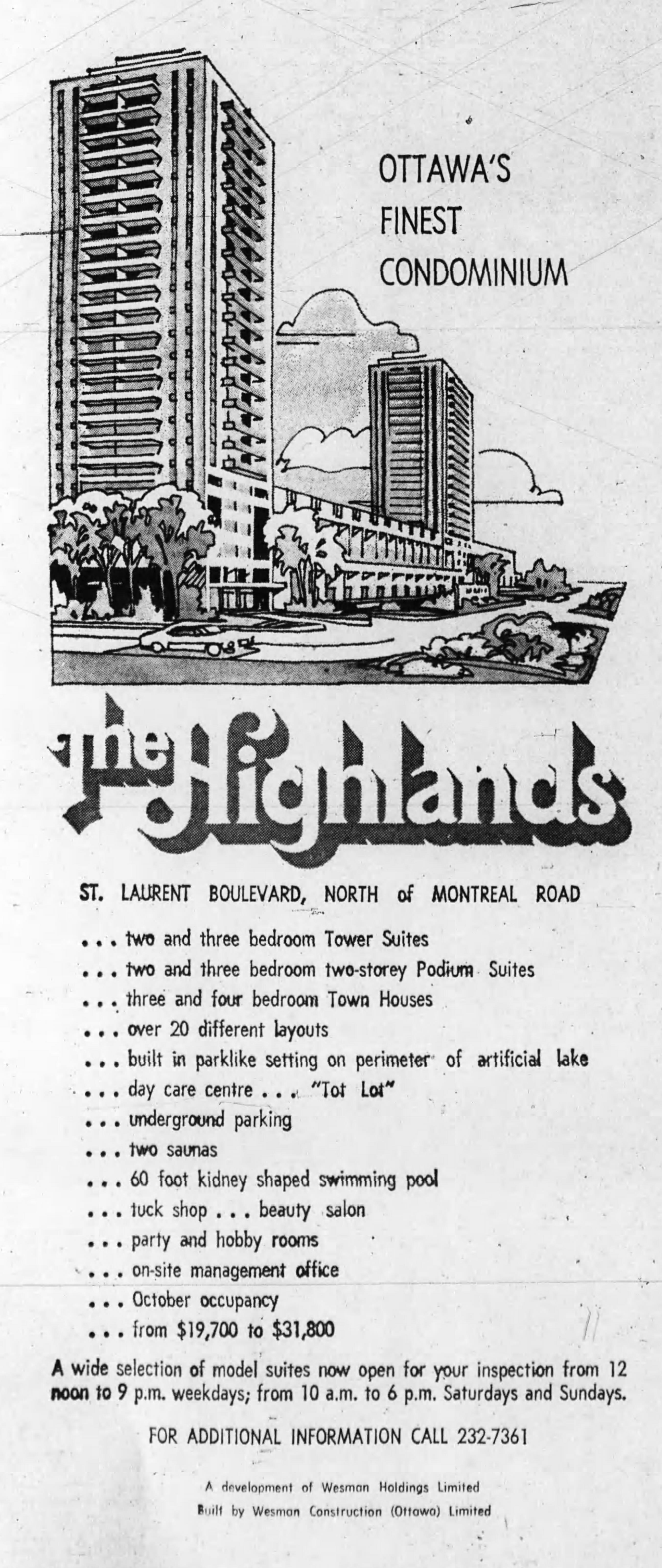 Source: Ottawa Journal, July 28, 1971, 56.