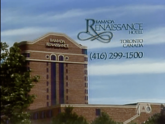 A night at the Ramada Renaissance on Kennedy at the 401...
