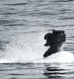 with just its air breathing snorkel and periscope visible a german type xxi u boat plies the waters germans rushed the technological marvel into  [ 2000 x 577 Pixel ]