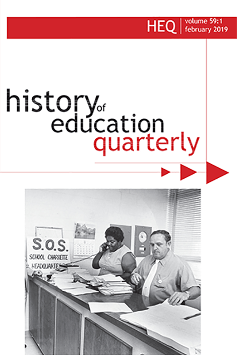 history of edcation society quarterly - Journal