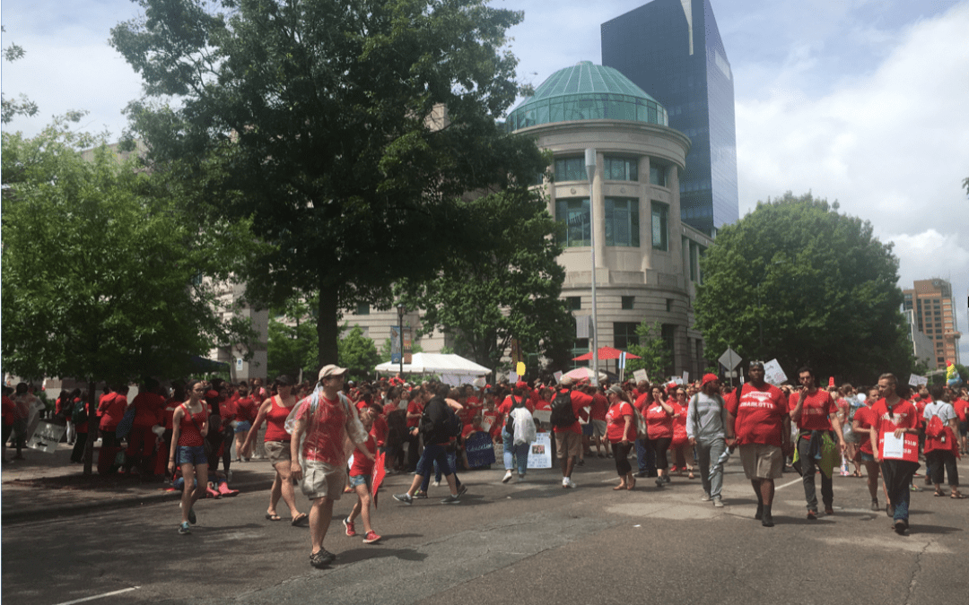 In the Streets, in the Archives: Decades of Teacher Protest in North Carolina