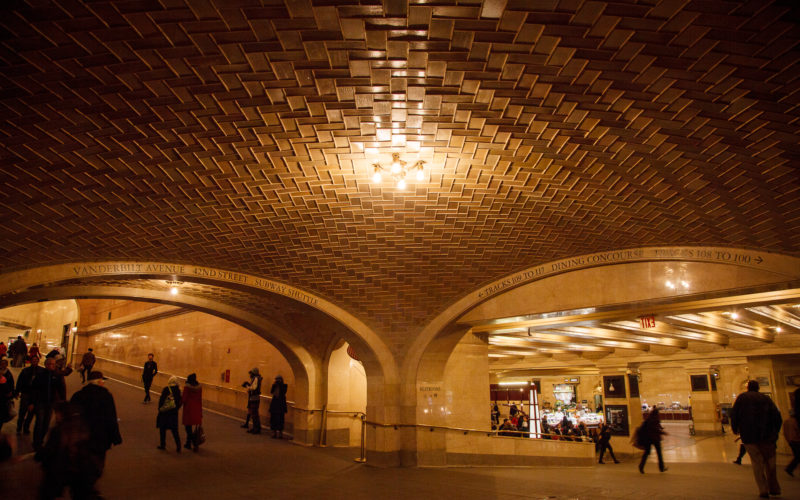 The Whispering Arch, Grand Central Station – History of New York