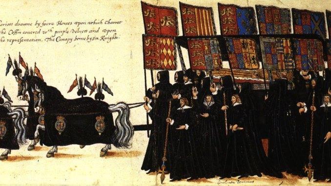 elizabeth funeral