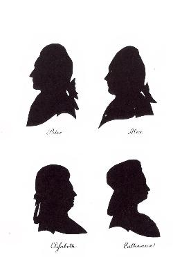 Silhouettes_of_the_Russian_Royals_in_Horsens