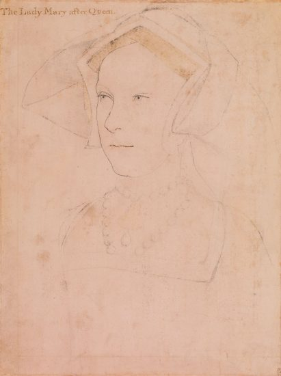 Possibly Mary, 1536 by Hans Holbein the Younger