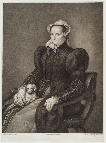 Queen Mary I by Bart Vazquez, after Anthonis Mor (Antonio Moro) stipple engraving, 1793 NPG D20392 © National Portrait Gallery, London