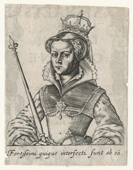 Queen Mary I after Unknown artist line engraving, published 1630 NPG D17814 © National Portrait Gallery, London