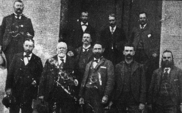 Parish Officials Circa 1890