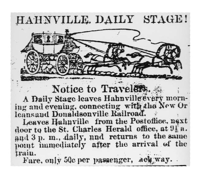 Hahnville Daily Stage