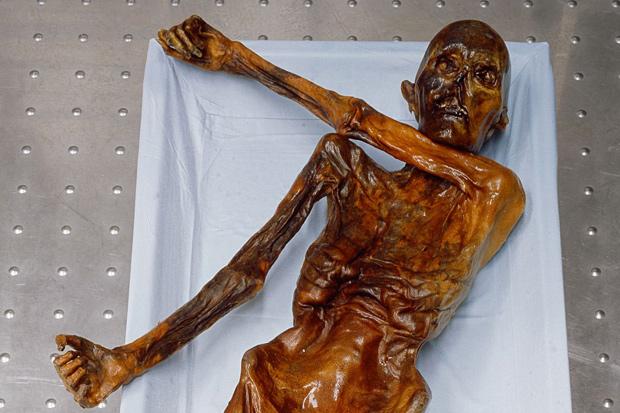5,000-year-old Iceman had 61 Tattoos