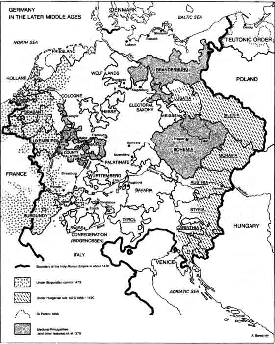 Germany in the Middle Ages