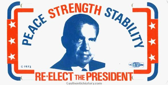 Image result for nixon reelection campaign