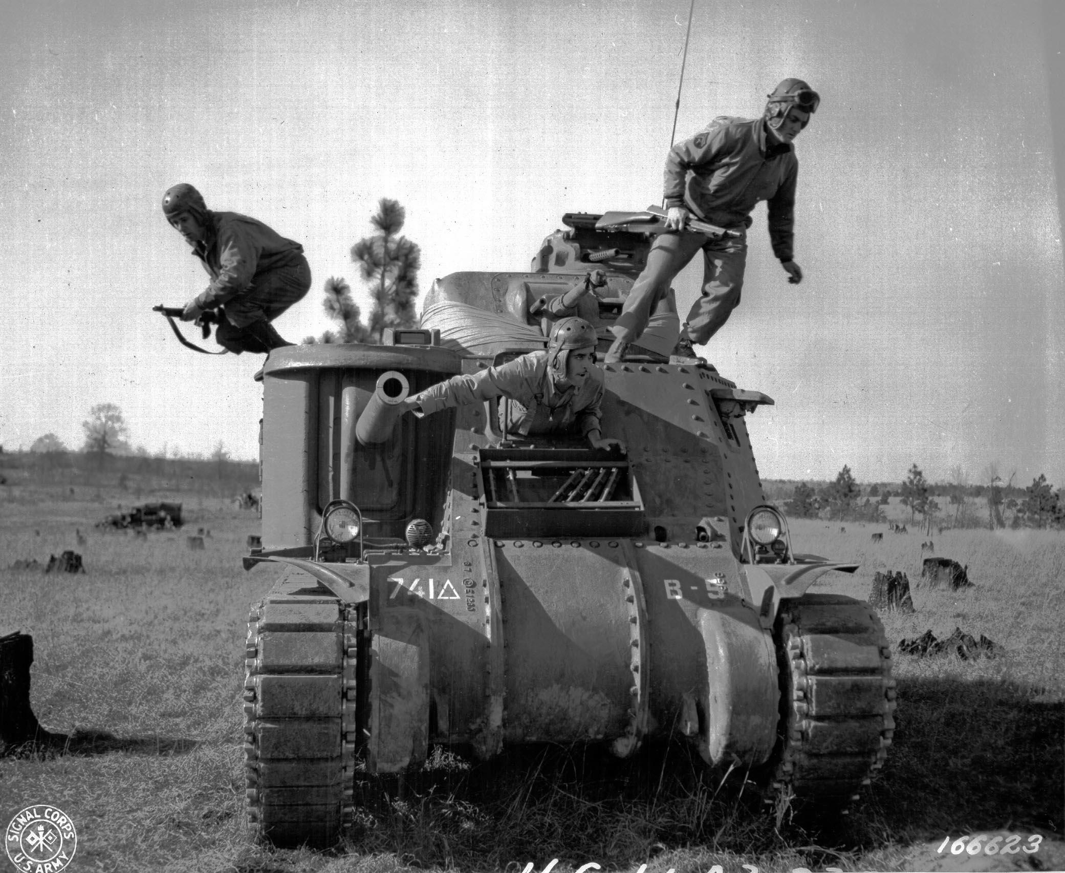 ww2 tanks american british
