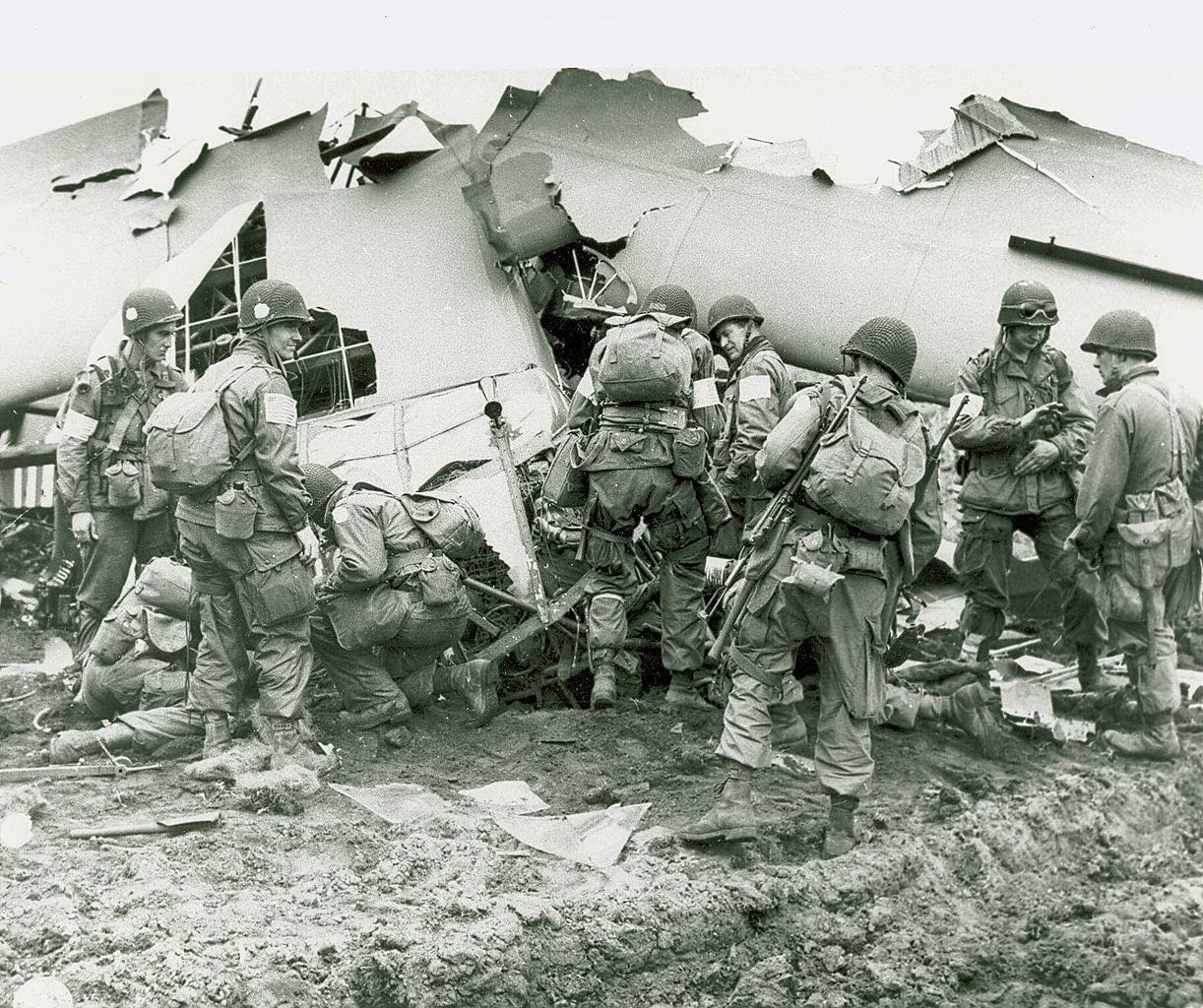 101st Airborne Division Using Stealth On D Day
