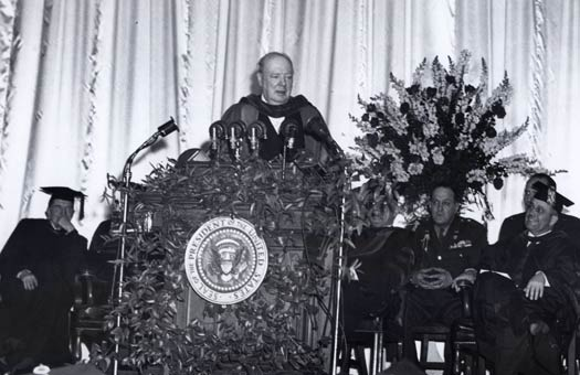 Winston Churchill's Iron Curtain Speech Predicting The Cold War