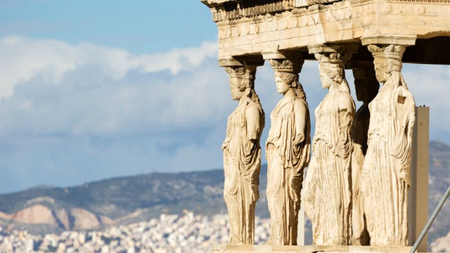 the greeks discover ancient