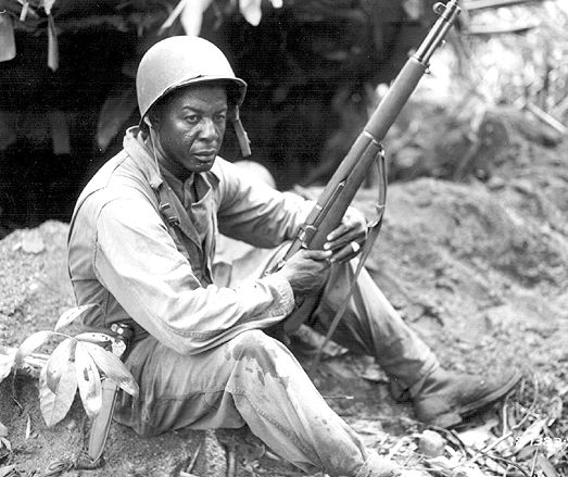 Image result for world war ii african american soldier