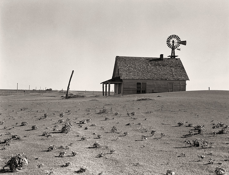 Farmers And Workers Dust Bowl