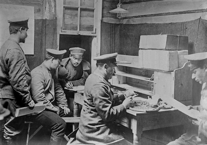 Image result for food parcels checked in german POW camps ww1